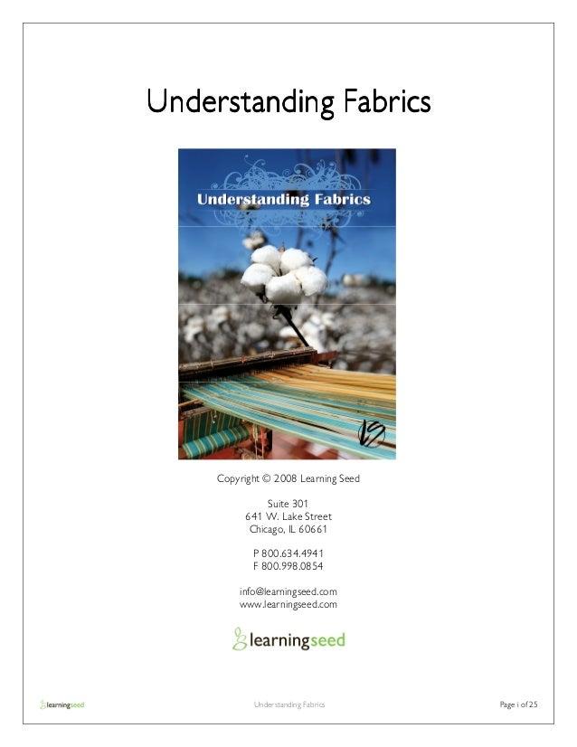1166 understanding fabrics guide