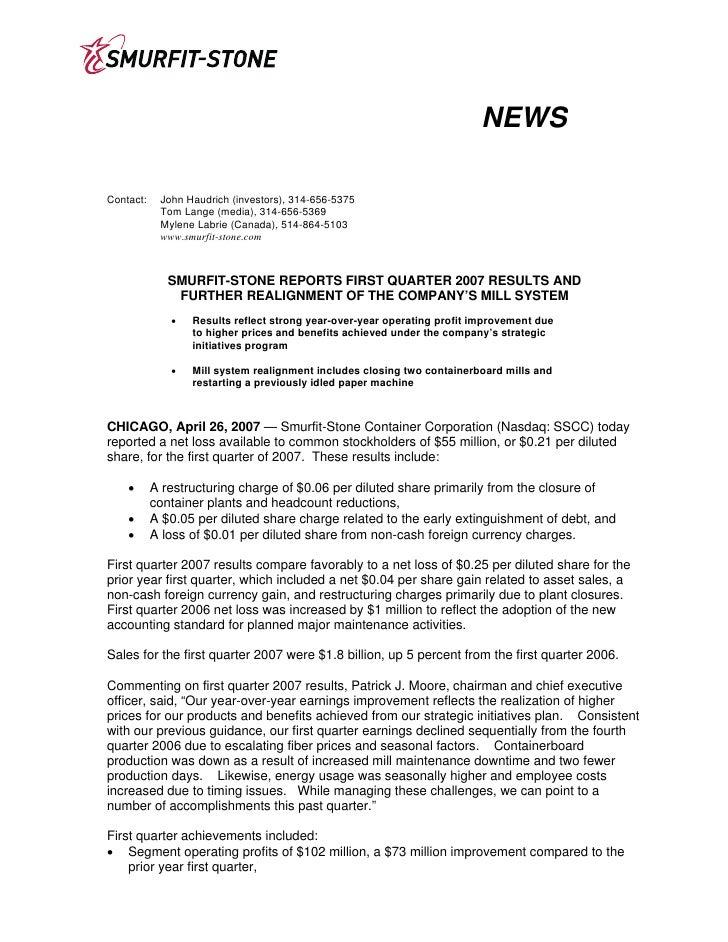 NEWS  Contact:    John Haudrich (investors), 314-656-5375             Tom Lange (media), 314-656-5369             Mylene L...