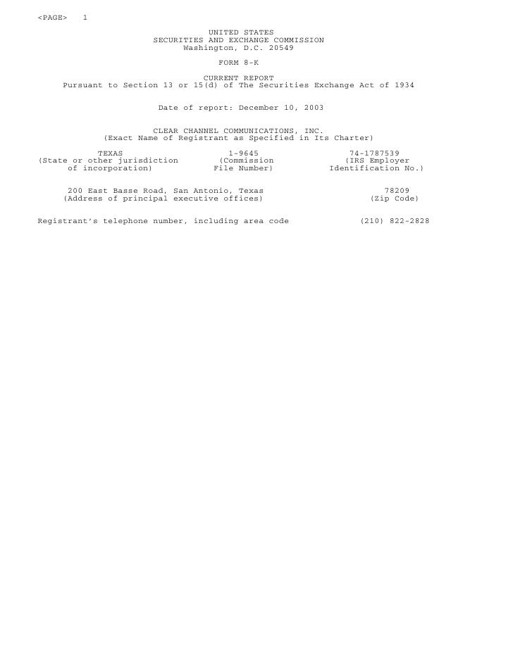 <PAGE>   1                                   UNITED STATES                        SECURITIES AND EXCHANGE COMMISSION      ...