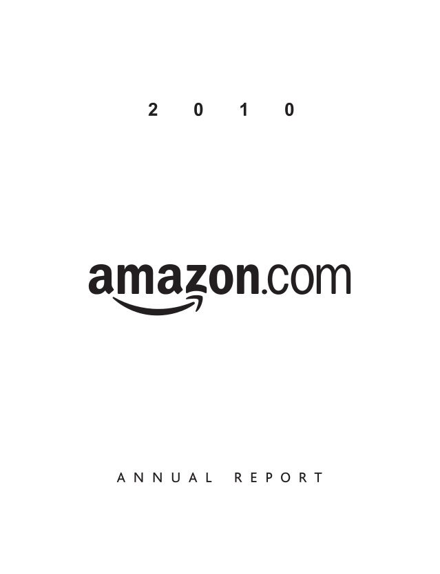 Amazon Annual Report