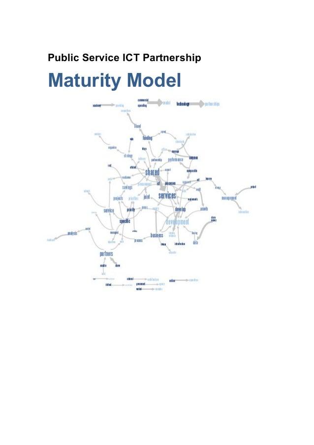 Public Service ICT PartnershipMaturity Model