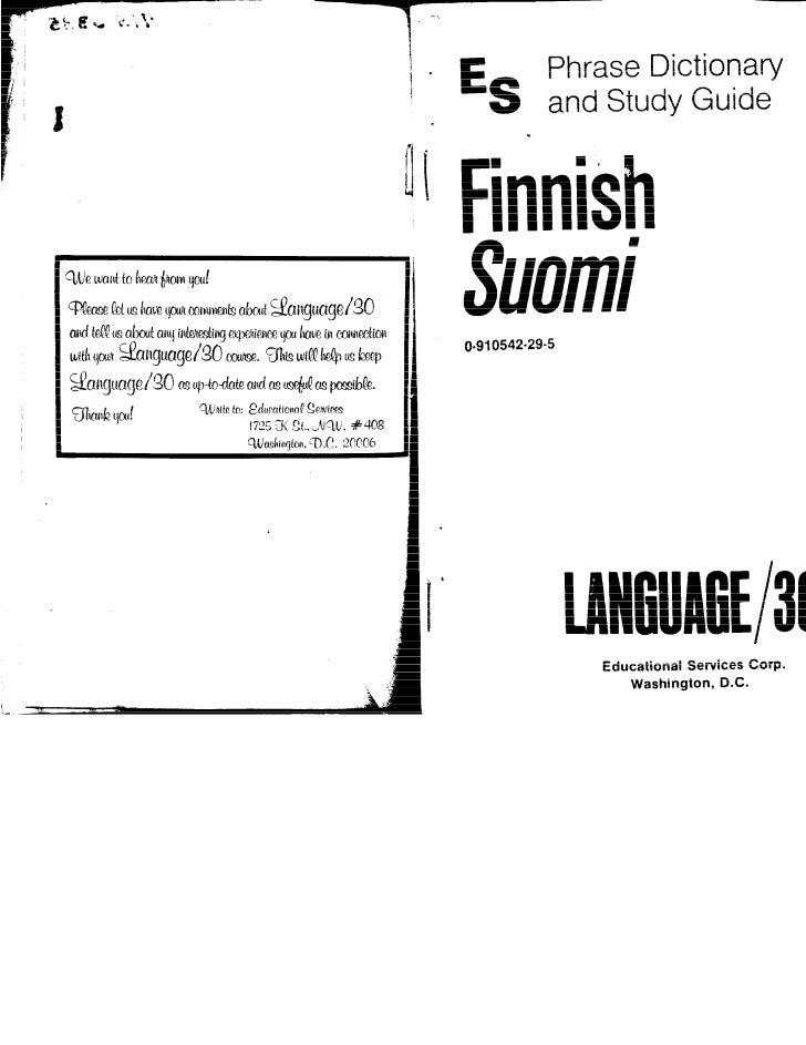 Finnish Conversation
