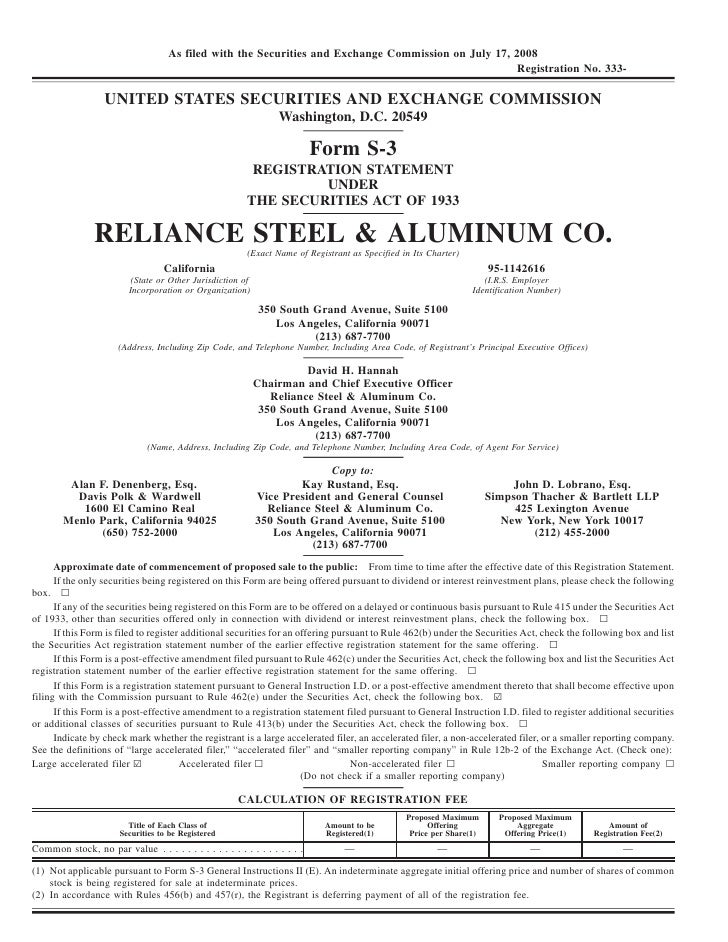 As filed with the Securities and Exchange Commission on July 17, 2008                                                     ...