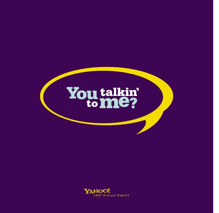 yahoo annual reports 1997