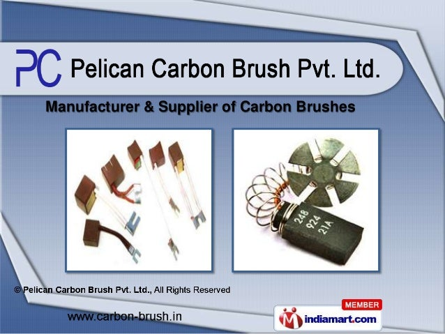 Manufacturer & Supplier of Carbon Brushes