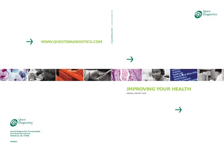 IMPROVING YOUR HEALTH ANNUAL REPORT 2001