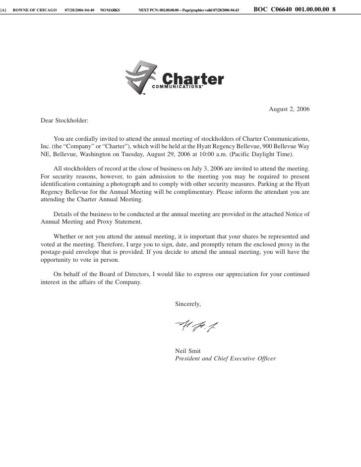 charter communications _Proxy06