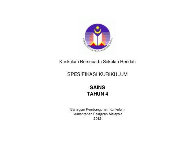 118378753 huraian-sukatan-pelajaran-kbsr-sains-tahun-4-bm