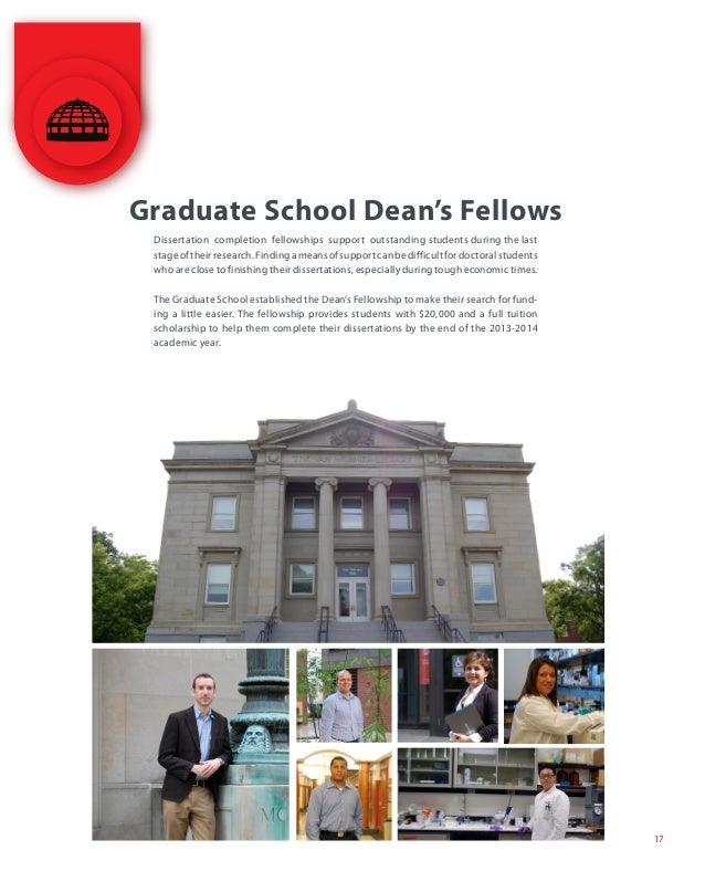 graduate fellowships and dissertation Townsend dissertation fellowships awarded to graduate students writing phd dissertations whose research projects significantly involve humanistic material or.