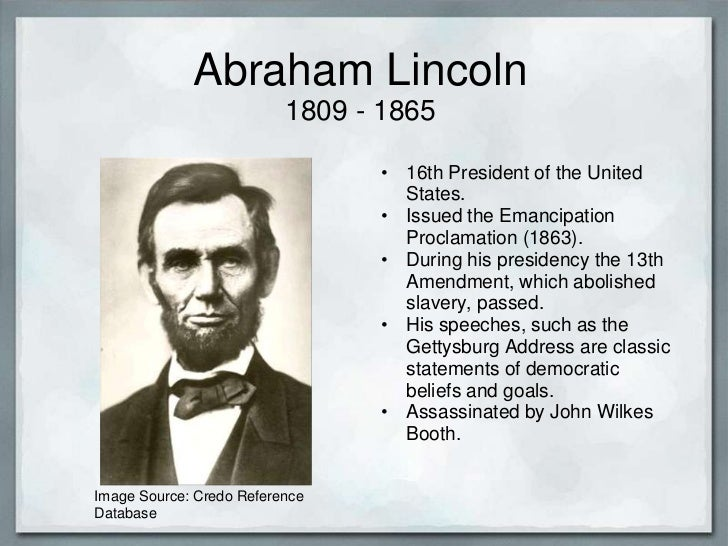 Essay on abraham lincoln life