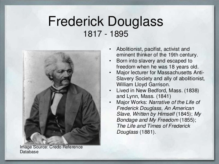 frederick douglas american dream This february, remember frederick douglass, the first african-american to attain historic stature - george will, philadelphia washington post.