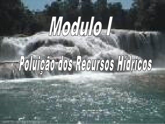 OBJECTIVOS - Reconhecer a problemática da poluição dos recursos hídricos -Identificar as principais causas da poluição dos...