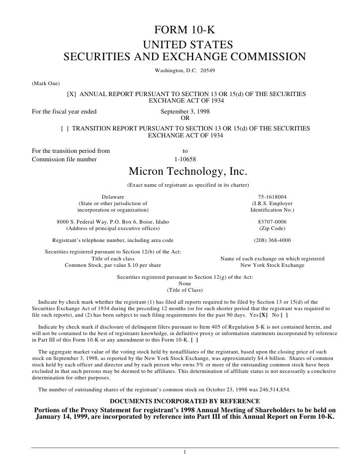 FORM 10-K                          UNITED STATES              SECURITIES AND EXCHANGE COMMISSION                          ...