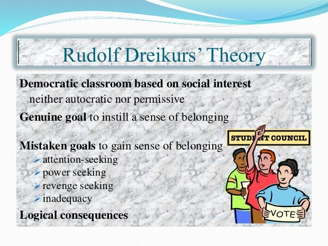 classroom management and the behaviorist theory Students having autonomy in the classroom is at odds with the behaviorism of skinner as would be expected in the newtonian paradigm the teacher helps the student with successful implementation of the plan or allows the consequences to occur control theory is a relatively new theory which fits outside of the newtonian paradigm.