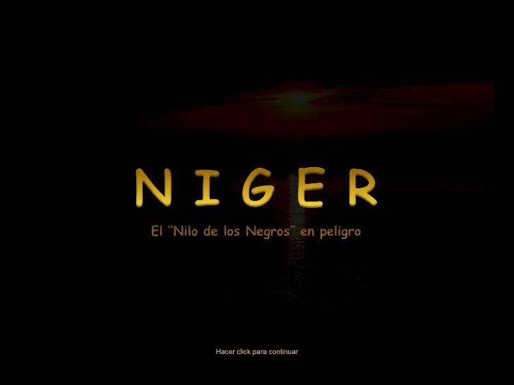 Niger (por: janmarchaussy / carlitosrangel)