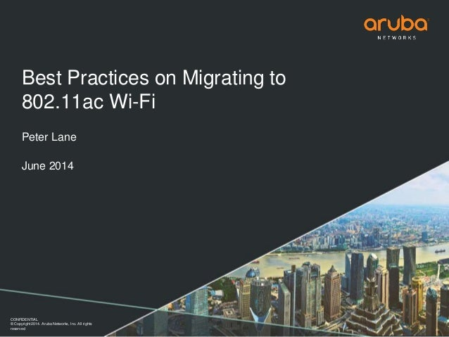 802.11ac Migration - Airheads Local