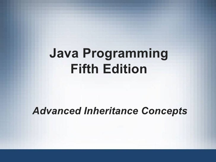 11 advance inheritance_concepts