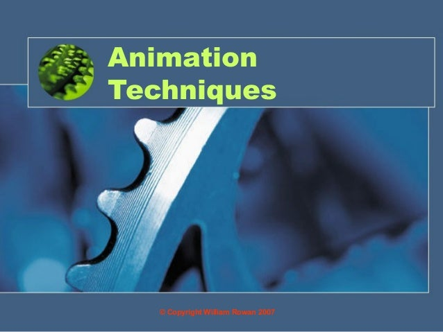 11 animation techniques