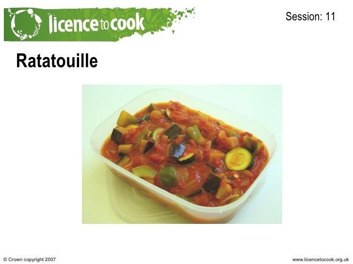 Ratatouille Session: 11