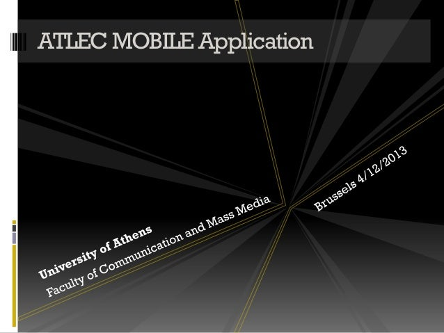 ATLEC MOBILE Application