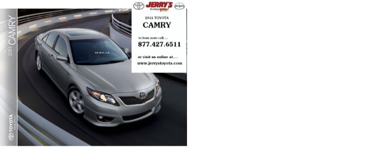 2011 Toyota Camry at Jerry's Toyota in Baltimore Maryland