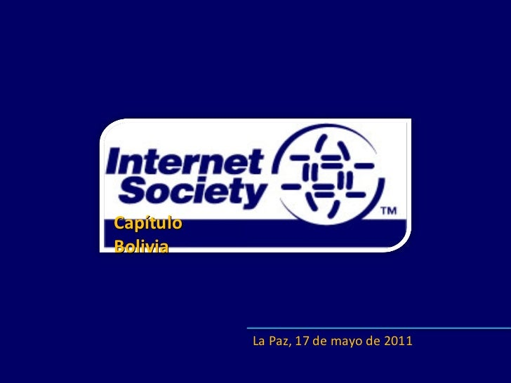 Internet Society - Capítulo Bolivia