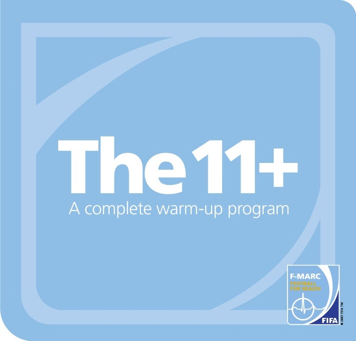 The11+ A complete warm-up program