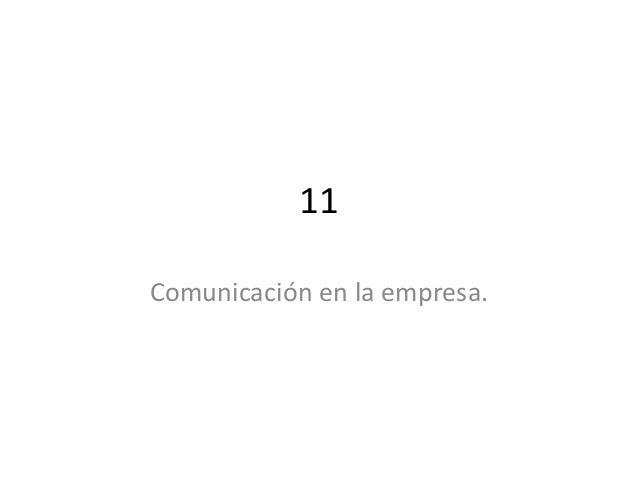 11 comunicacion