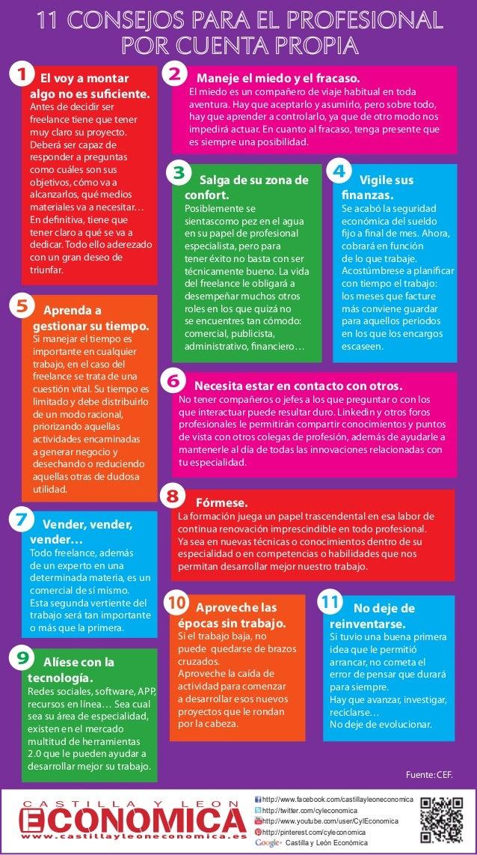 11 Consejos para el profesional por cuenta propia