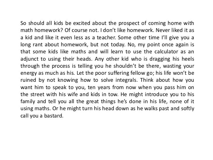 Do they give you a lot of homework in high school?