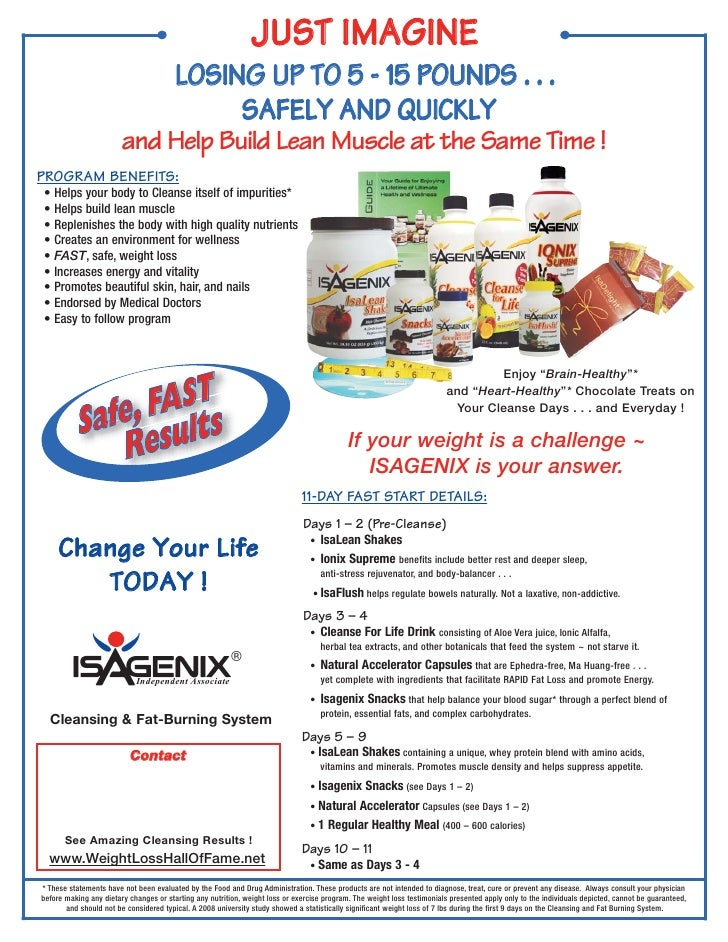 JUST IMAGINE                                        LOSING UP TO 5 - 15 POUNDS . . .                                      ...