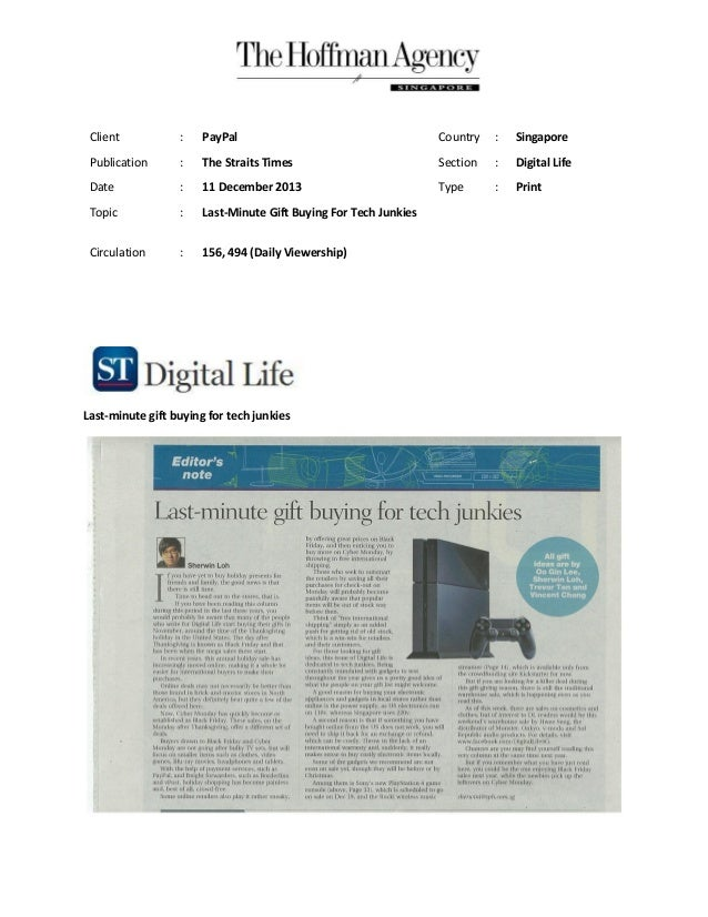 11 dec st digital life (print)-last minute gift buying for tech junkies