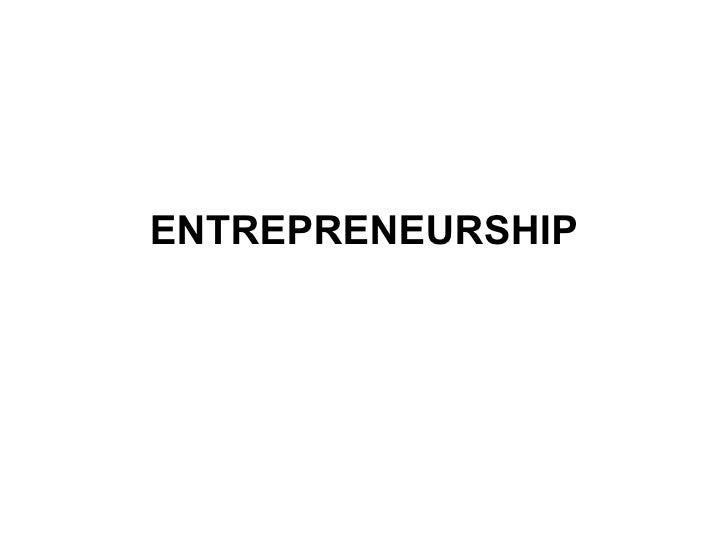 Entrepreneurship By Talha Lodhi