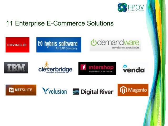 11 Enterprise E-Commerce Solutions