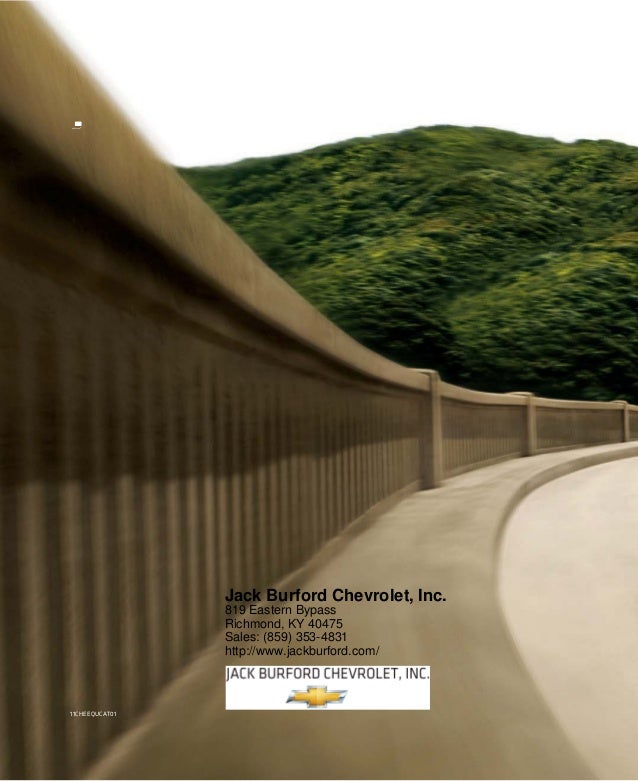 2011  Chevrolet Equinox  - Jack Burford Chevrolet Richmond, KY