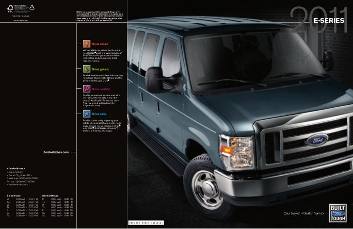 11 Ford Econoline Van brought to you by your Mid Atlantic Ford Dealer