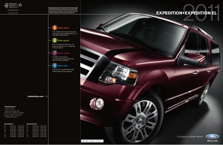 11 Ford Expedition brought to you by Maryland Ford dealer