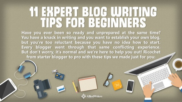 Blog writing services tips beginners