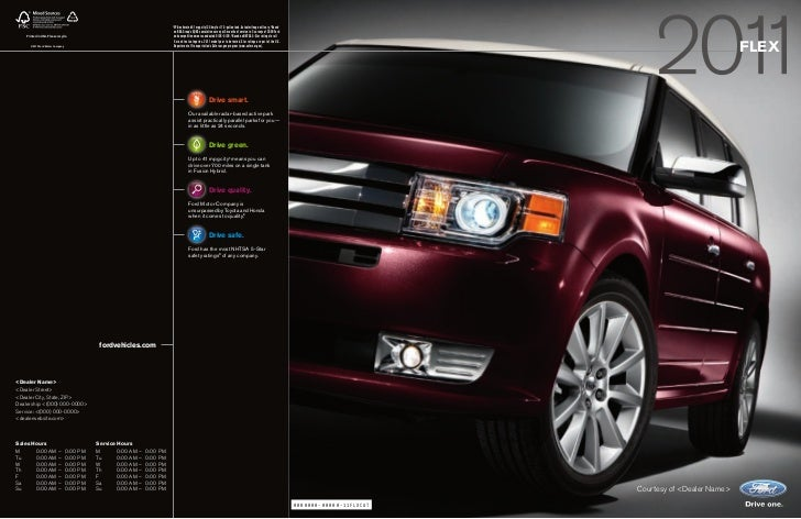 11 Ford Flex brought to you by Maryland Ford dealer