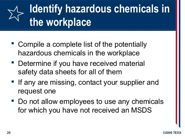 Hazard Communication Training By