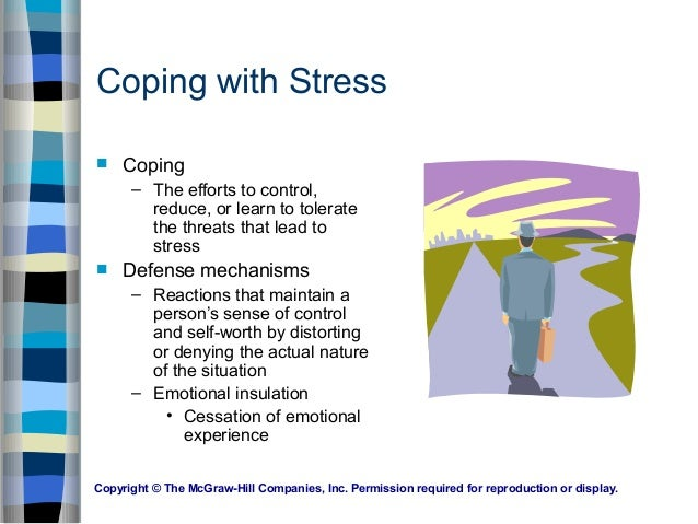 health stress and coping Coping with stress  it is often helpful for parents, schools, and health professionals to work together for the well-being of all children in stressful times.