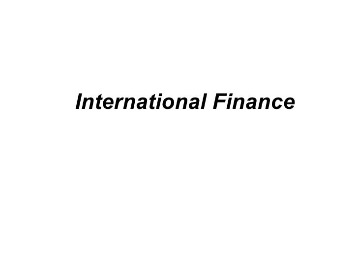 11 international finance introduction