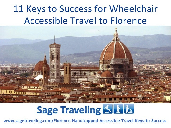 11 Keys To Success For Wheelchair Accessible Travel To Florence