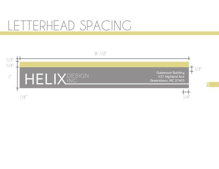 """LETTERHEAD SPACING                          8 1/2""""1/3""""1/4""""                                                             1/3..."""