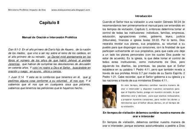 11 manual de oracion y del  intercesor profetico 1ra revision