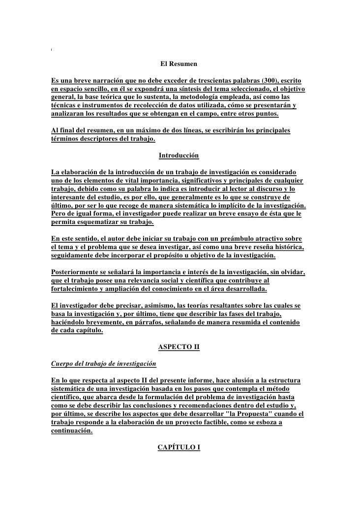 11 Marzo El Resumen Investigacion