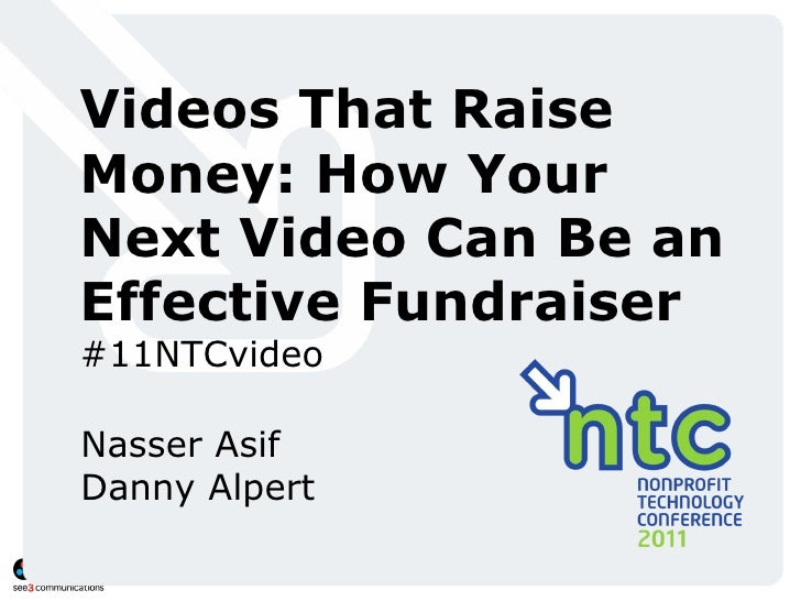 Videos That Raise Money