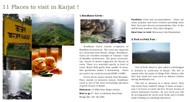 11 places to visit in Karjat