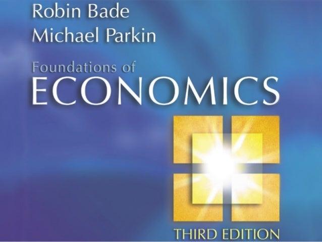 The Economic Problem CHAPTER 3