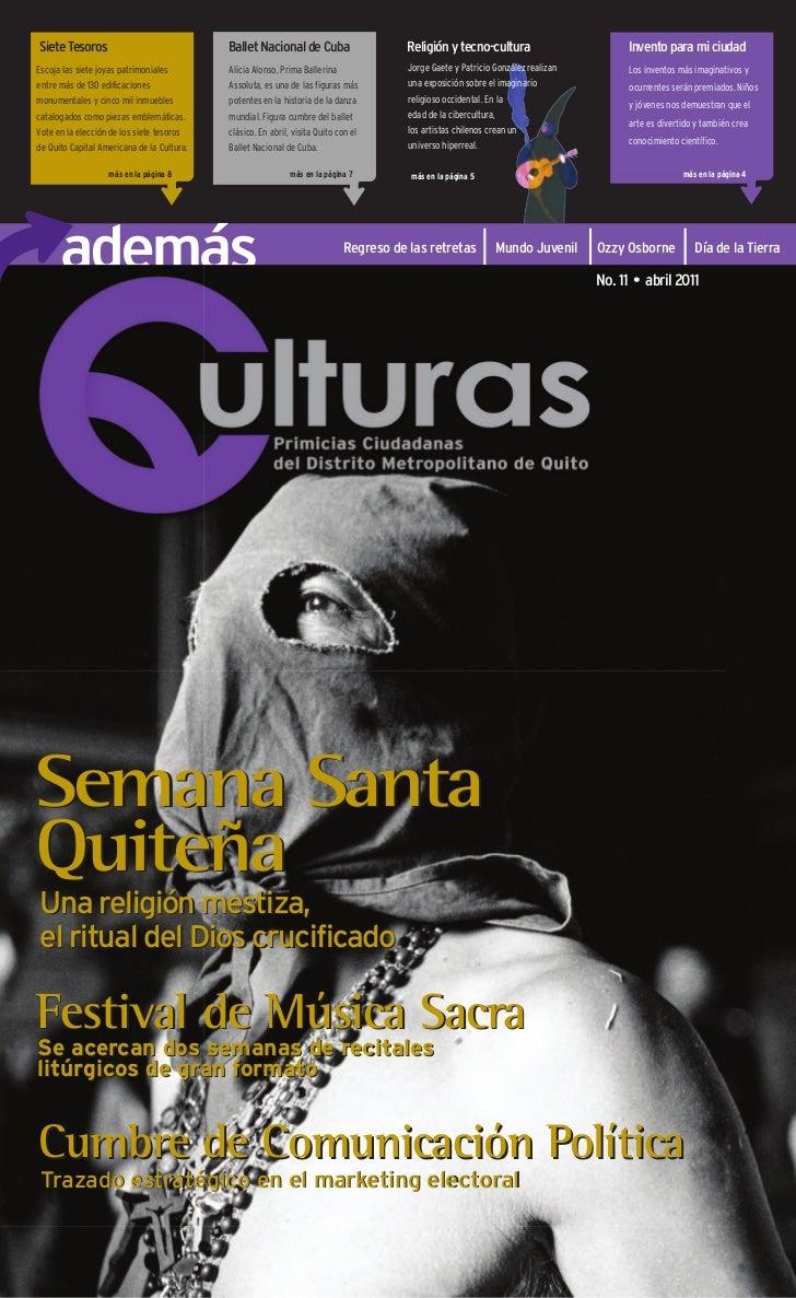 Siete Tesoros                               Ballet Nacional de Cuba                     Religión y tecno-cultura          ...